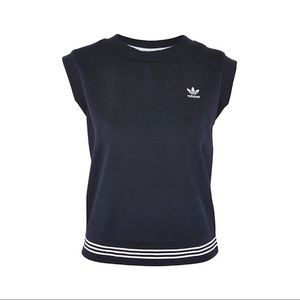 Adidas 3 Stripe Sleeveless Top